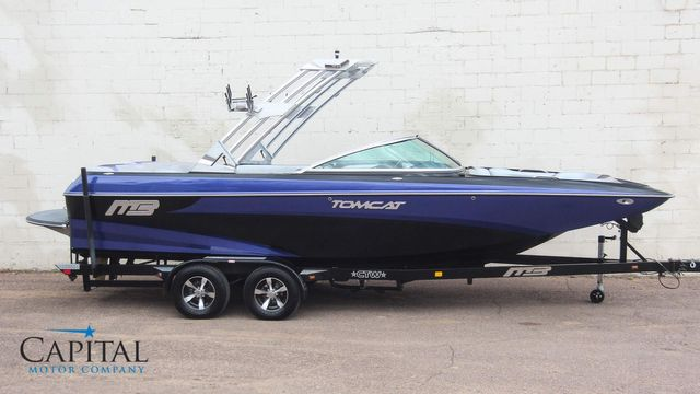 2013 Mb Sports F24 Tomcat 24-Foot Wakeboard & Surf Boat w/2,400LB Ballast & GPS Cruise in Eau Claire, Wisconsin 54703
