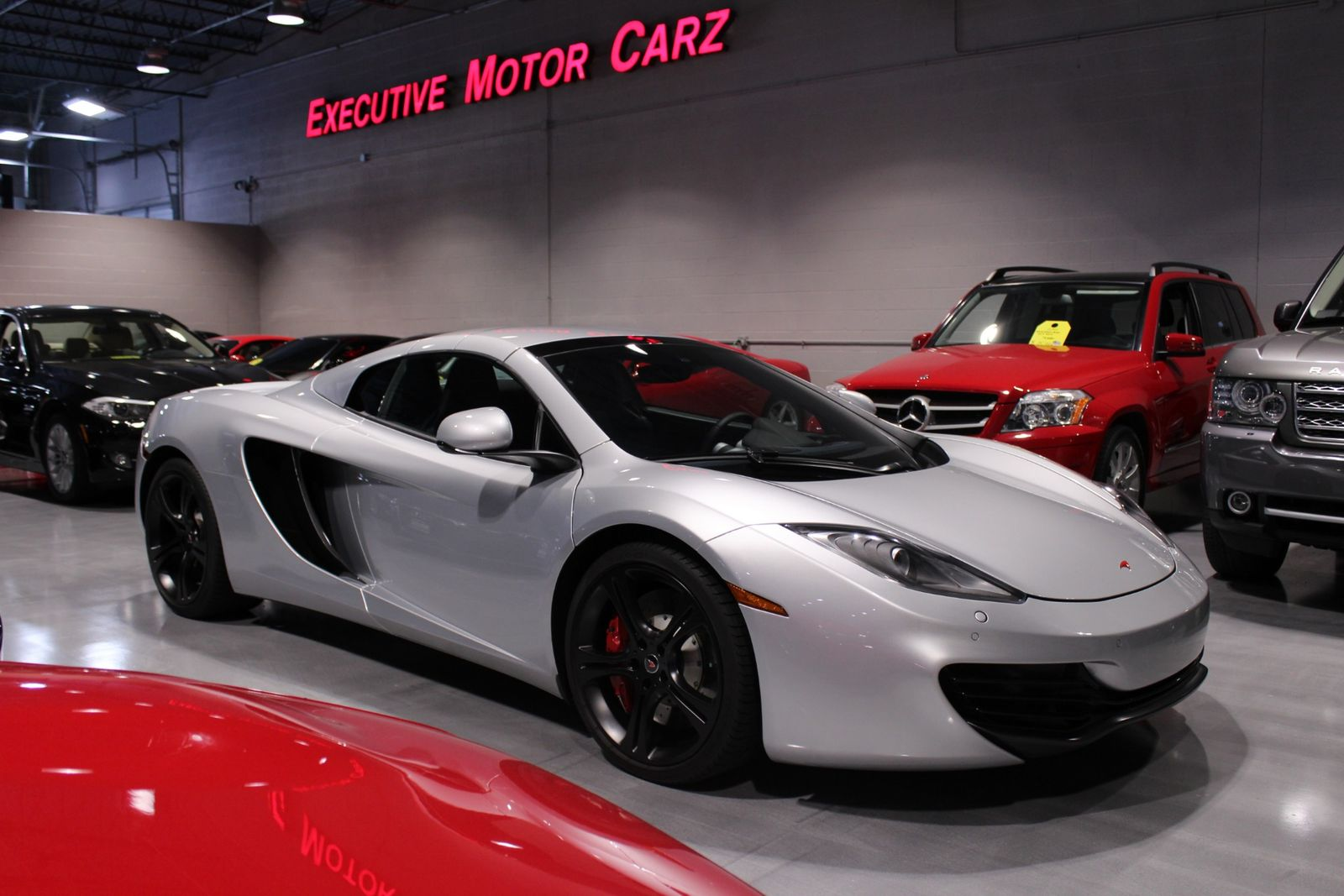 2013 Mclaren Automotive MP4 12C SPIDER Lake Forest IL Executive Motor Carz  In Lake Forest ...