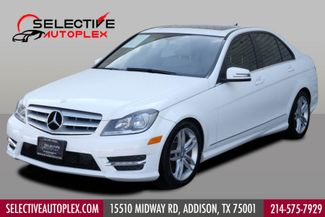 2013 Mercedes-Benz C 250 Navigation, Sunroof, Sport Pkg, Heated Seats in Addison, TX 75001
