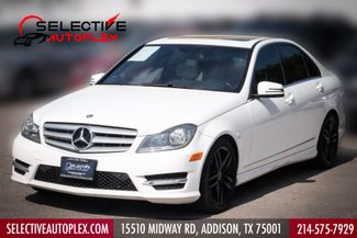 2013 Mercedes-Benz C 250 Navigation, Sunroof, Sport Pkg, Heated Seats in Addison, TX 75001