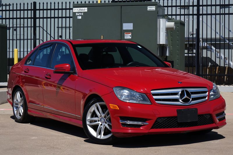 2013 Mercedes-Benz C 250 Sport* Sunroof* Nav* BU Cam* Heated Seats* EZ Fin* | Plano, TX | Carrick's Autos in Plano TX