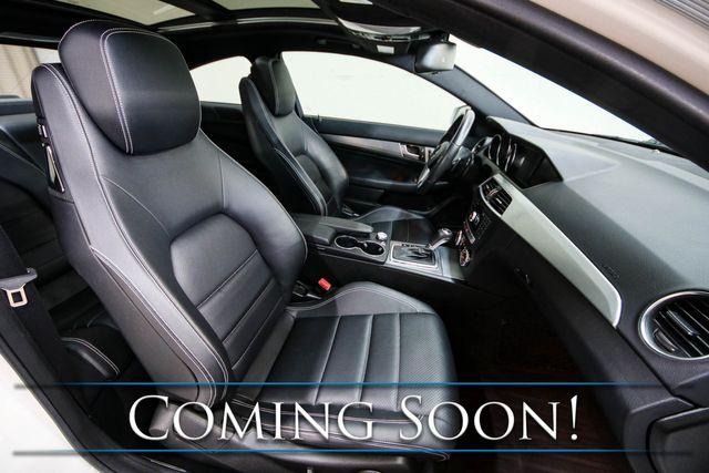 2013 Mercedes-Benz C250 Luxury Sports Car w/Panoramic Roof, Nav, Backup Cam, Heated Seats & Harman/Kardon Audio in Eau Claire, Wisconsin 54703