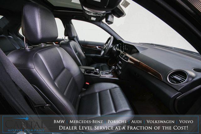 2013 Mercedes-Benz C300 Sport 4MATIC AWD Luxury Car w/Heated Seats, Moonroof, Harman/Kardon Audio & AMG Wheels in Eau Claire, Wisconsin 54703