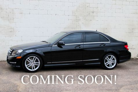 2013 Mercedes-Benz C300 Sport 4MATIC AWD Luxury Car w/Navigation Heated Seats, Bluetooth Phone & Audio in Eau Claire