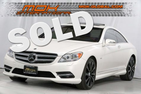2013 Mercedes-Benz CL 550 - 4Matic - Grand Edition - Designo Matte White in Los Angeles
