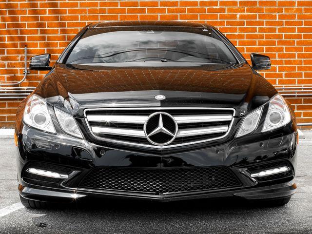 2013 Mercedes-Benz E 550 Burbank, CA 2