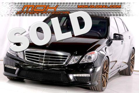 2013 Mercedes-Benz E63 - Original MSRP of $101075 in Los Angeles