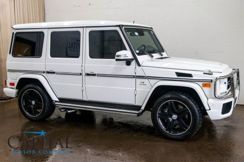 2013 Mercedes-Benz G-Wagon G63 AMG AWD Luxury SUV w/NAV, Backup Cam, Heated/Cooled Seats, H/K Audio & 536HP V8 in Eau Claire