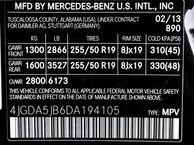 2013 Mercedes Benz ML 350 Burbank, CA 845