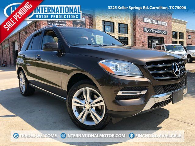 2013 Mercedes-Benz ML 350 ONE OWNER in Carrollton, TX 75006