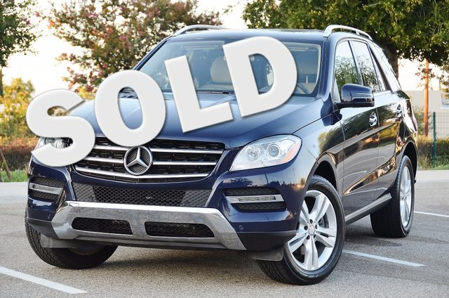2013 Mercedes-Benz ML 350  AUTO - 33K MILES - NAVI - HTD STS - SUNROOF Reseda, CA 0