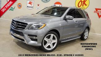2013 Mercedes-Benz ML 550 4MATIC PANO ROOF,NAV,BACK-UP,HTD LTH,81K! in Carrollton TX, 75006