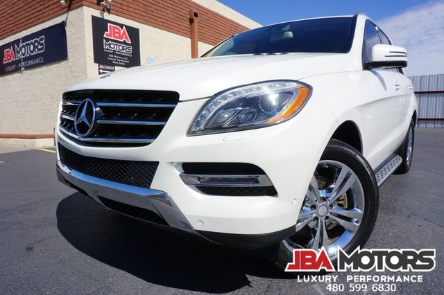 2013 Mercedes-Benz ML350 ML Class 350 Diamond White Blind Spot Keyless GO