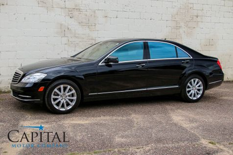 2013 Mercedes-Benz S350 BlueTEC 4Matic AWD Clean Diesel w/Dynamic Heated/Cooled Seats, Navigation & 15-Speaker Audio in Eau Claire