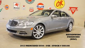 2013 Mercedes-Benz S 550 PANO ROOF,NAV,BACK-UP,HTD/COOL LTH,20'S,54K in Carrollton, TX 75006