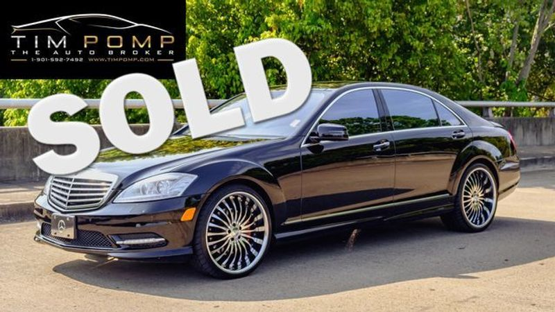 2013 Mercedes-Benz S 550    Memphis, Tennessee   Tim Pomp - The Auto Broker in Memphis Tennessee