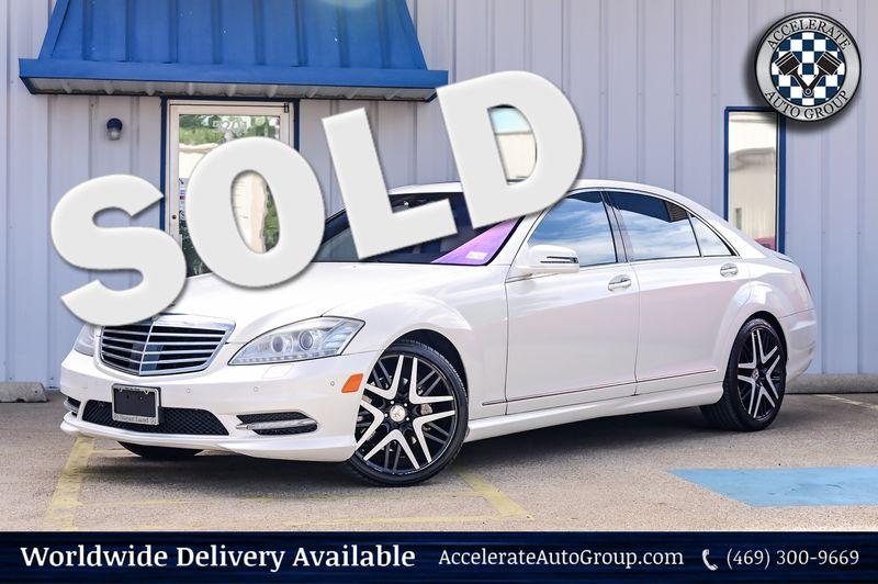 2013 Mercedes-Benz S 550 4.6L BI-TURBO V8, NAVIGATION, BACK UP CAM, CLEAN!! in Rowlett Texas