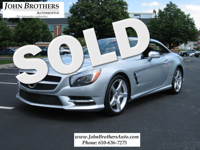 2013 Sold Mercedes-Benz SL 550 Conshohocken, Pennsylvania