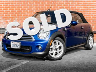 2013 Mini Convertible Burbank, CA