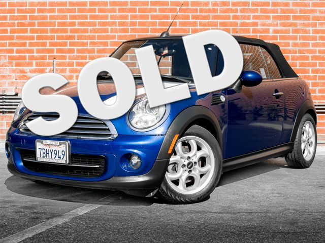 2013 Mini Convertible Burbank, CA 0