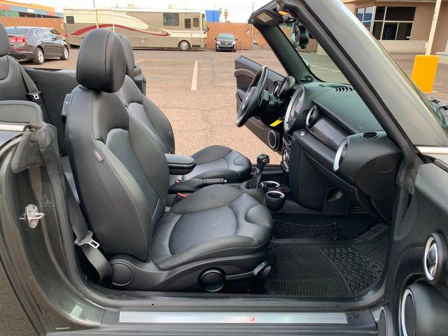 2013 Mini Cooper S Convertible 3 MONTH/3,000 MILE NATIONAL POWERTRAIN WARRANTY Mesa, Arizona 13