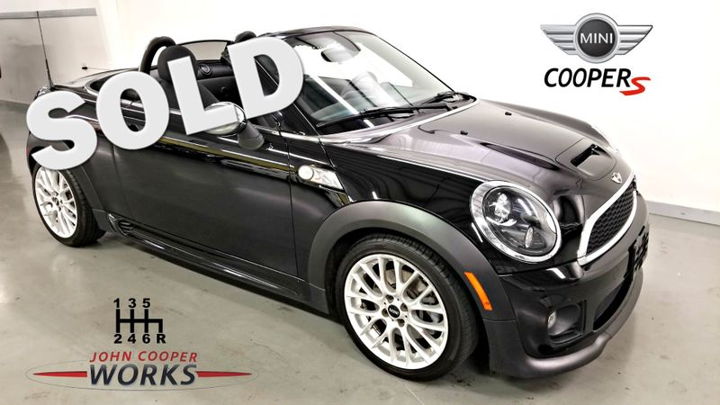 2013 Mini Roadster S John Cooper Works Turbocharged