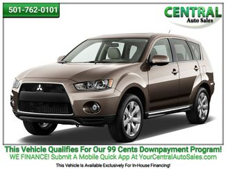 2013 Mitsubishi Outlander SE | Hot Springs, AR | Central Auto Sales in Hot Springs AR