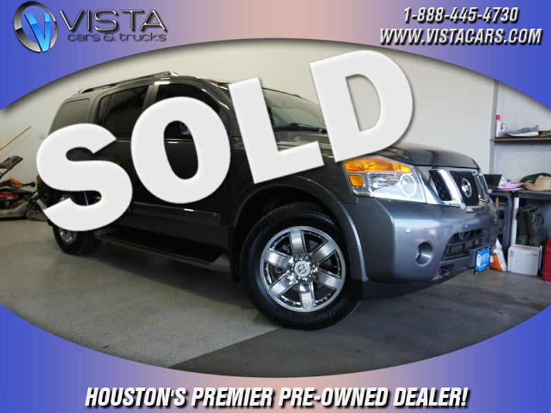 2013 Nissan Armada Platinum  city Texas  Vista Cars and Trucks  in Houston, Texas