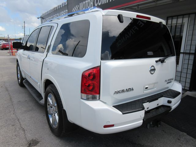 2013 Nissan Armada, PRICE SHOWN IS ASKING DOWN PAYMENT south houston, TX 2