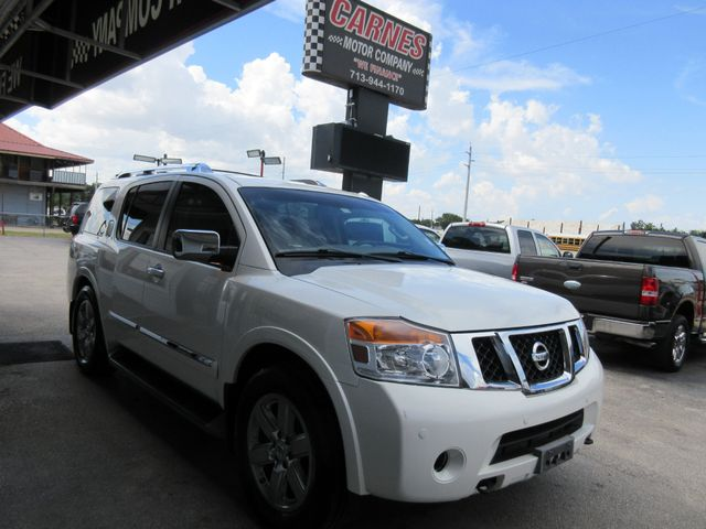 2013 Nissan Armada, PRICE SHOWN IS ASKING DOWN PAYMENT south houston, TX 4