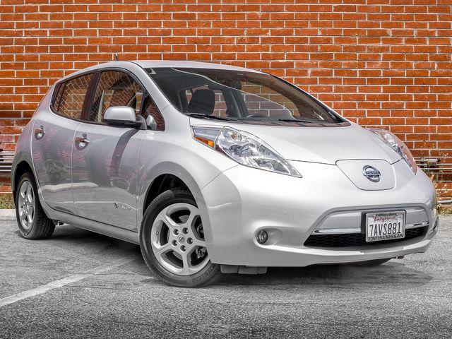 2013 Nissan LEAF SV Burbank, CA 0