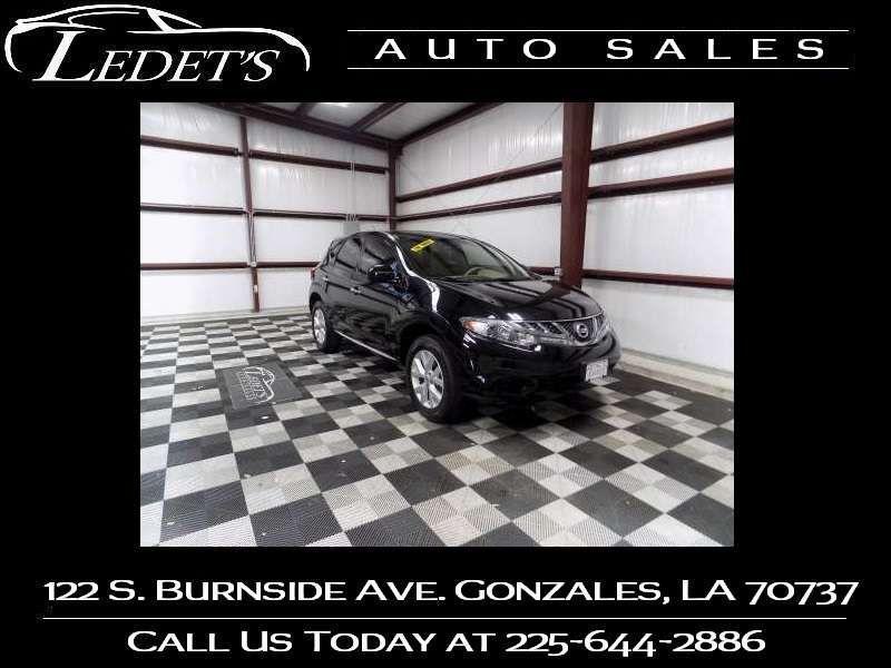 2013 Nissan Murano S - Ledet's Auto Sales Gonzales_state_zip in Gonzales Louisiana