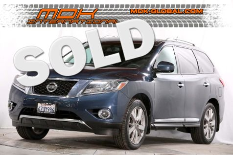 2013 Nissan Pathfinder Platinum - Navigation - DVD - Panoramic roof in Los Angeles