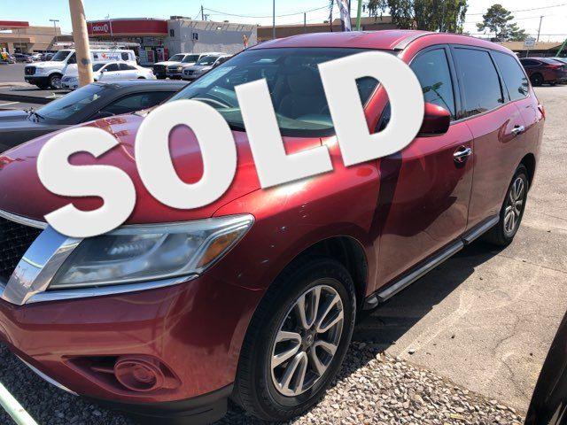2013 Nissan Pathfinder S CAR PROS AUTO CENTER (702) 405-9905 Las Vegas, Nevada