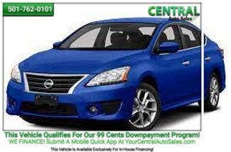 2013 Nissan Sentra SR | Hot Springs, AR | Central Auto Sales in Hot Springs AR