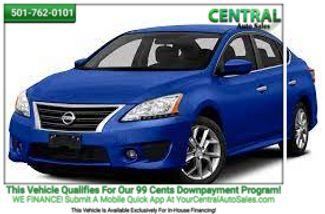2013 Nissan Sentra SR | Hot Springs, AR | Central Auto Sales in Hot Springs AR