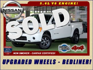 2013 Nissan Titan S Crew Cab 4x4 - ONE OWNER - ALLOY WHEELS! Mooresville , NC