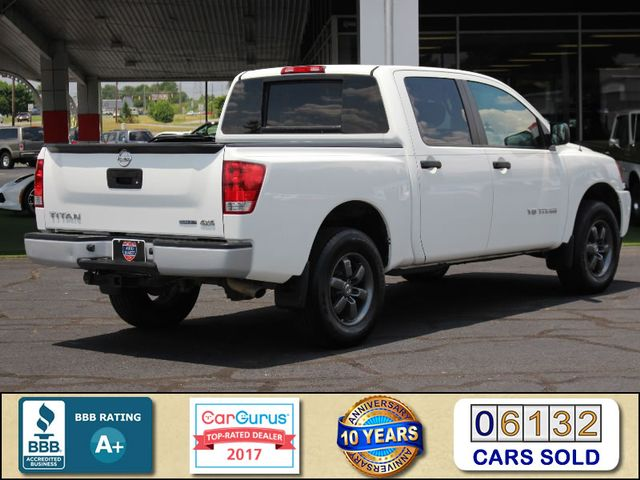 2013 Nissan Titan S Crew Cab 4x4 - ONE OWNER - ALLOY WHEELS! Mooresville , NC 2