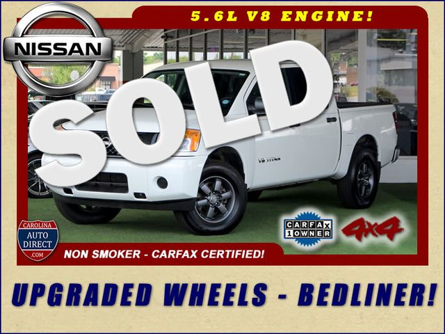 2013 Nissan Titan S Crew Cab 4x4 - ONE OWNER - ALLOY WHEELS! Mooresville , NC 0