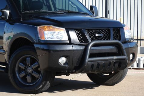 2013 Nissan Titan PRO-4X* 4x4*Crew Cab*Leather*Sunroof* Only 113k mi | Plano, TX | Carrick's Autos in Plano, TX