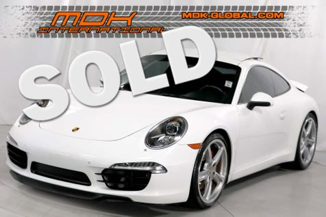 2013 Porsche 911 Carrera S - Orginal MSP of $123,630 in Los Angeles