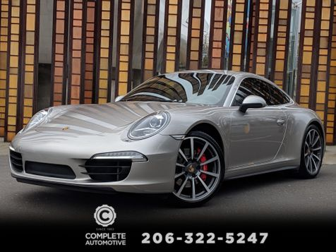 2013 Porsche 911 Carrera 4S Coupe Premium Pkg + Burmester PDK Sport Chrono & Exhaust in Seattle