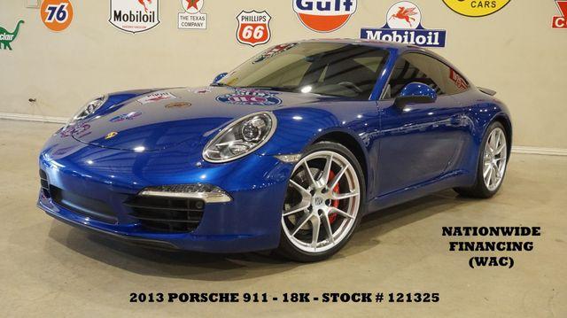 2013 Porsche 911 Carrera S Coupe AUTO,ROOF,NAV,HTD/COOL LTH,18K