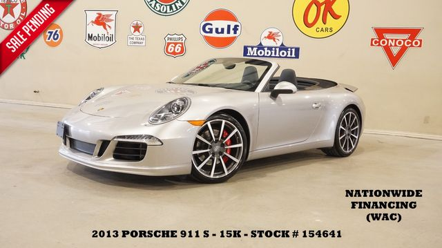 2013 Porsche 911 Carrera S Conv. AUTO,NAV,HTD/COOL LTH,BOSE,15K in Carrollton, TX 75006