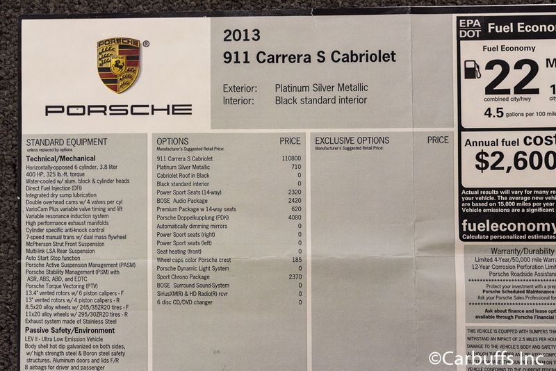 2013 Porsche 911 Carrera S | Concord, CA | Carbuffs in Concord, CA
