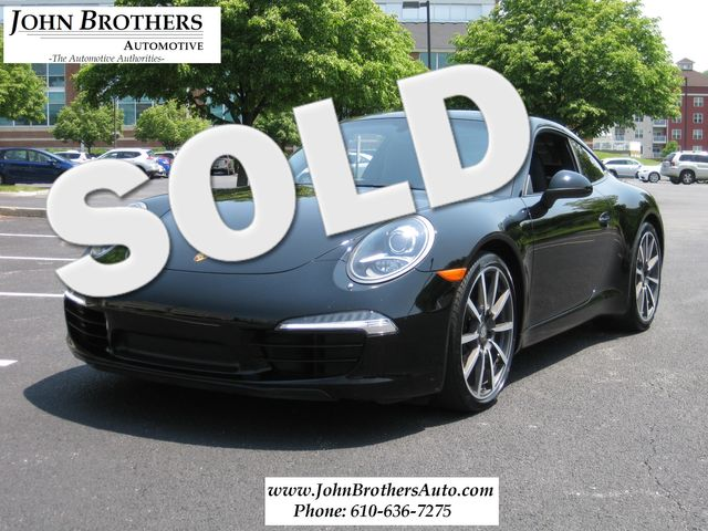 2013 Sold Porsche 911 Carrera Conshohocken, Pennsylvania