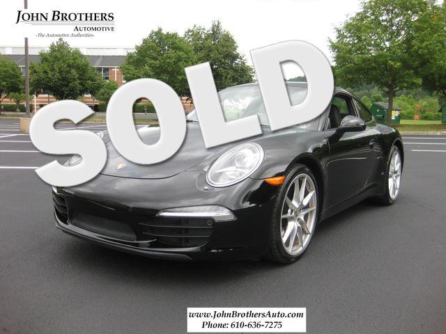2013 Sold Porsche 911 Carrera Conshohocken, Pennsylvania