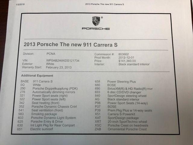 2013 Porsche 911 Carrera S Longwood, FL 47