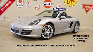 2013 Porsche Boxster Convertible 6 SPD,HTD LTH,19IN WHLS,33K,WE FINANCE in Carrollton, TX 75006