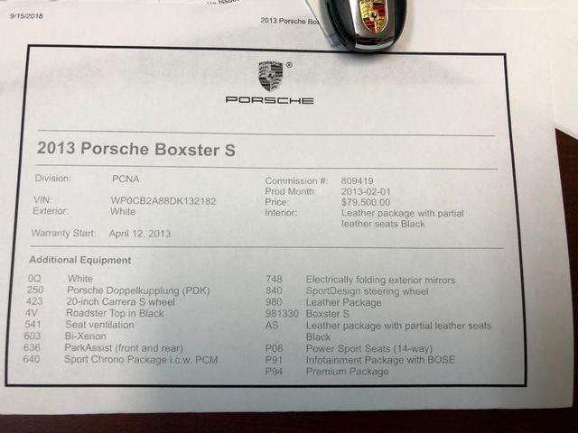 2013 Porsche Boxster S Longwood, FL 39